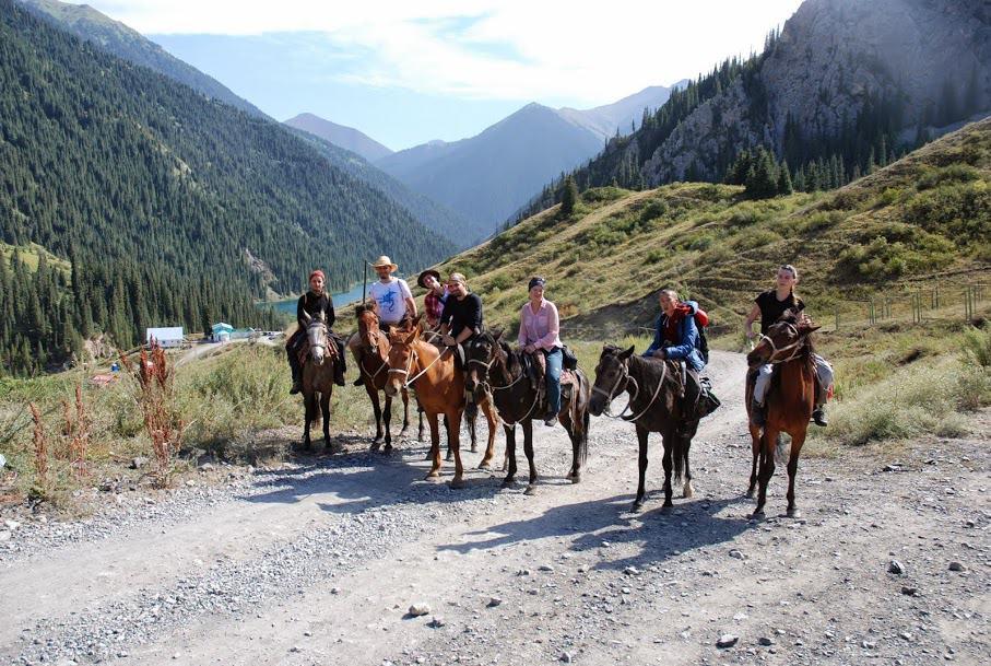 Kazachstan atrakcje Kolsai i Kaindy