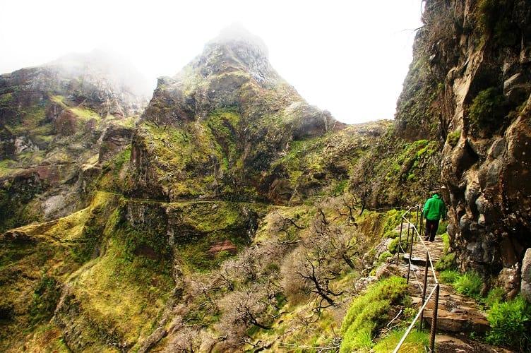 Trasa między Pico Ruvio i Pico Arieiro III