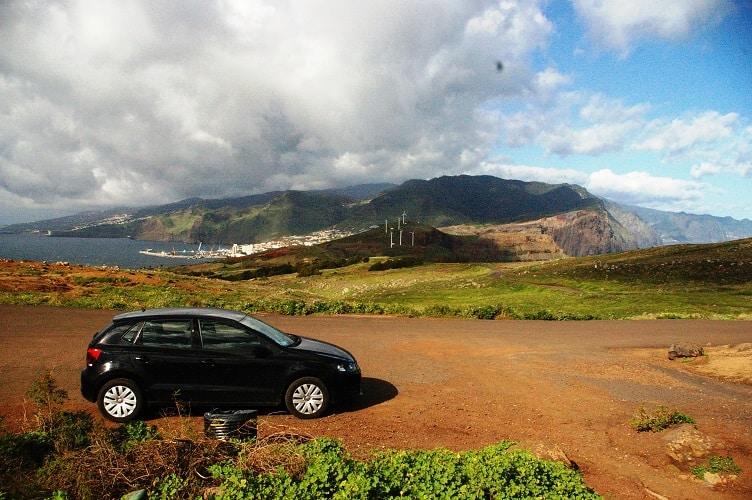 samochod na Maderze