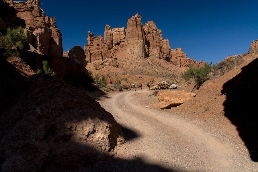 Kazachstan atrakcje Kanion-Charyn-I