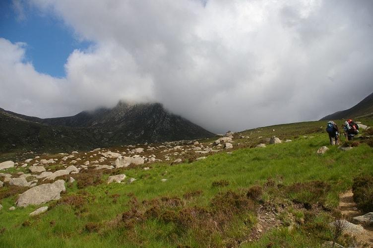Szkocja - Wyspa Arran,  Goatfell 874 m n. p. m.