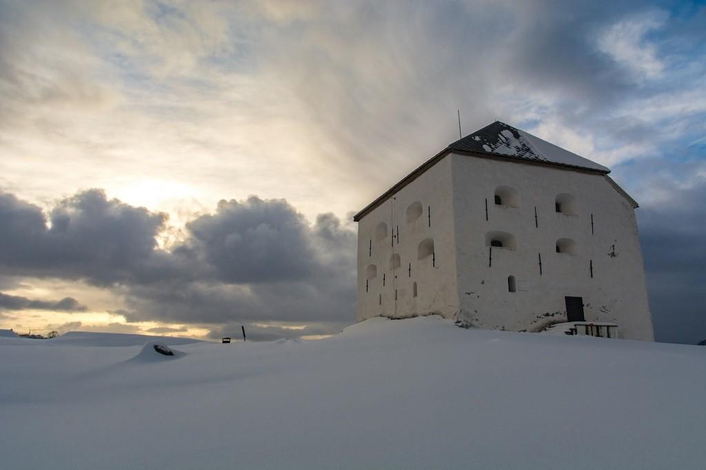 Wieża Tyholt Trondheim atrakcje