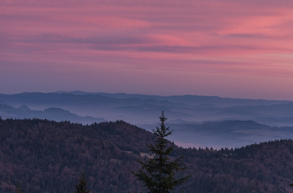 Turbacz - Gorce szczyty