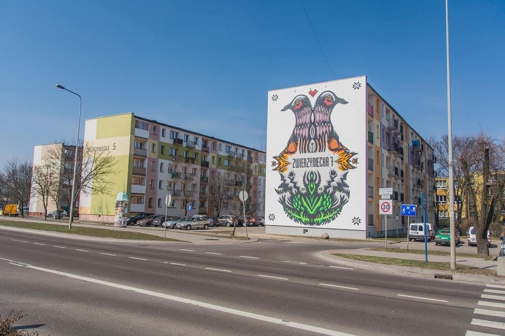 Murale Białystok