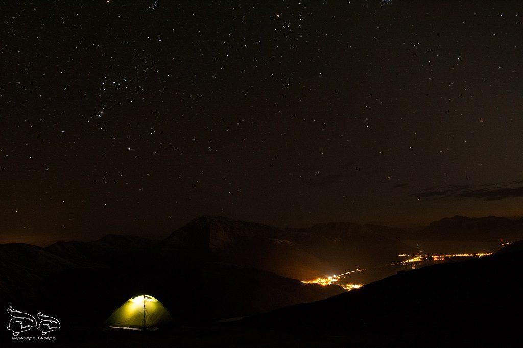Szkocja namiot