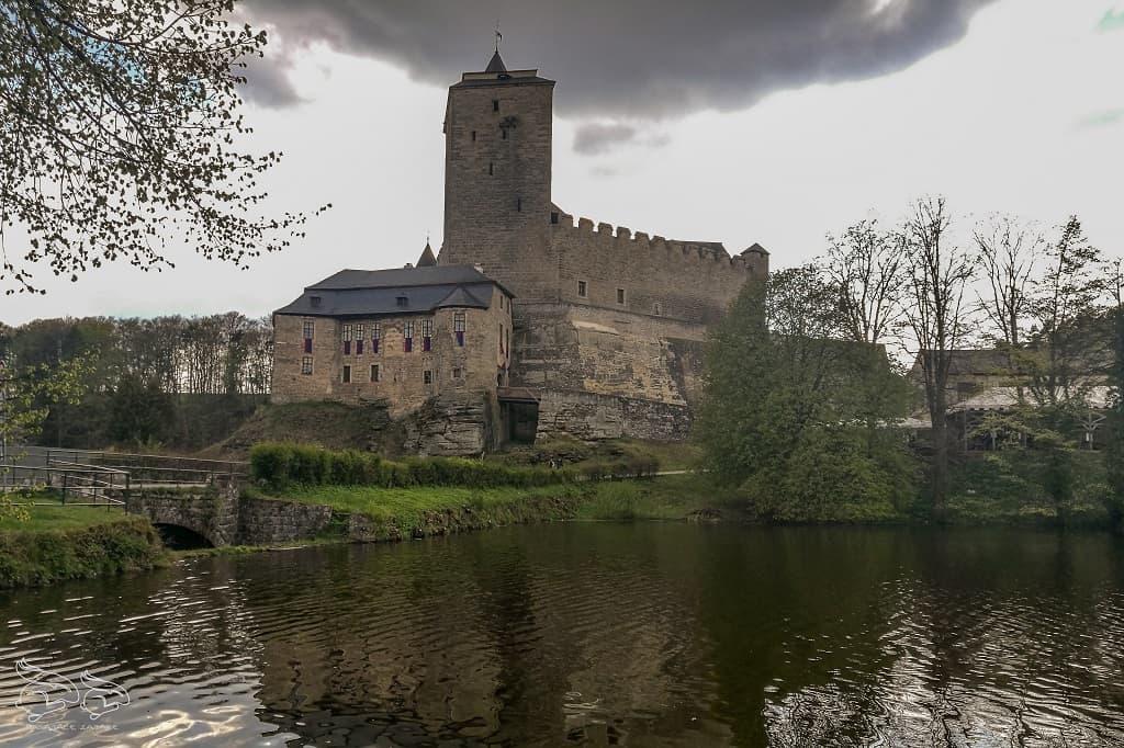 zamek Kosc czeski raj