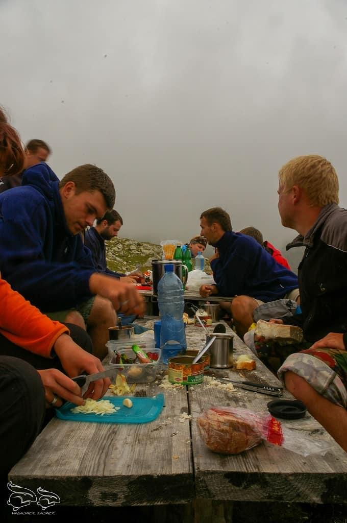 co jeść w górach