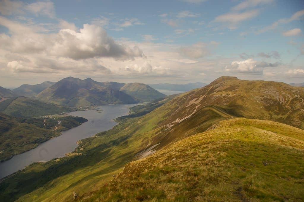 Szkocja - Ben Nevis i okoliczne munrosy