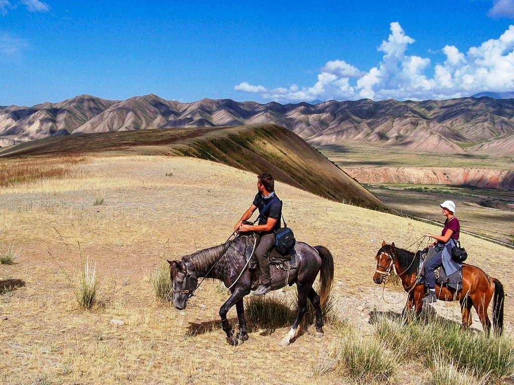 Konie w Kirgistanie