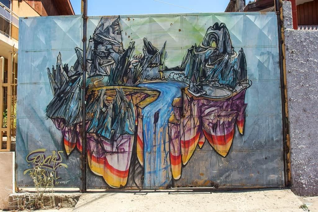 Valparaiso murale