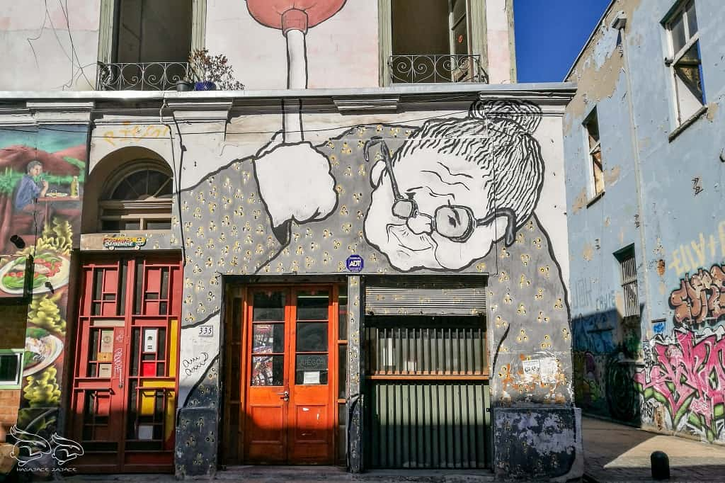 Valparaiso, chilijska stolica street art'u