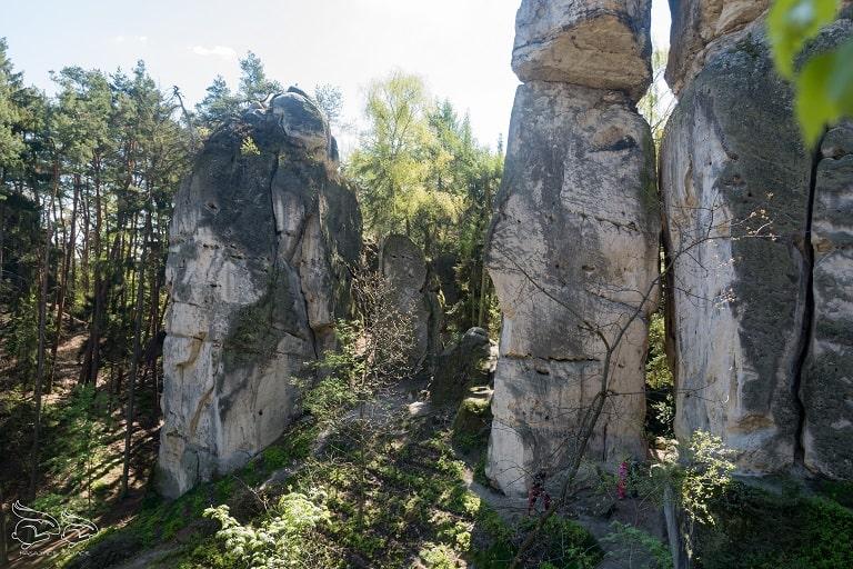 hruba skała szlak