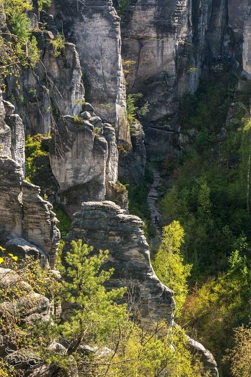 prachowskie skaly szlak
