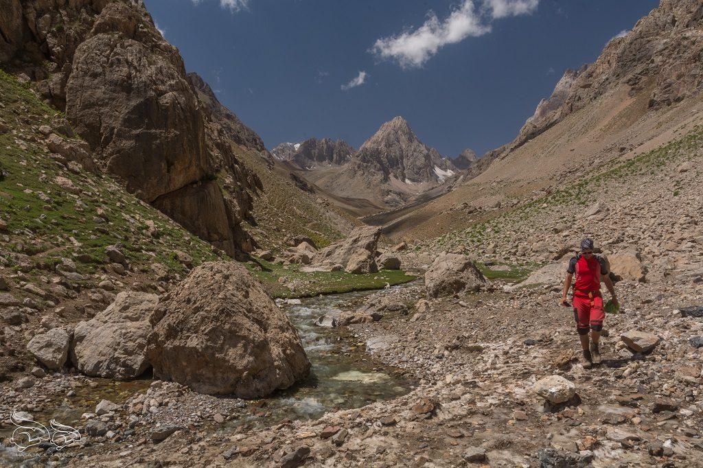 Góry w Tadzykistanie - Góry Fańskie