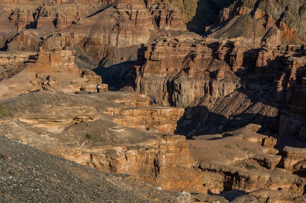 kanion szarynski w kazachstanie