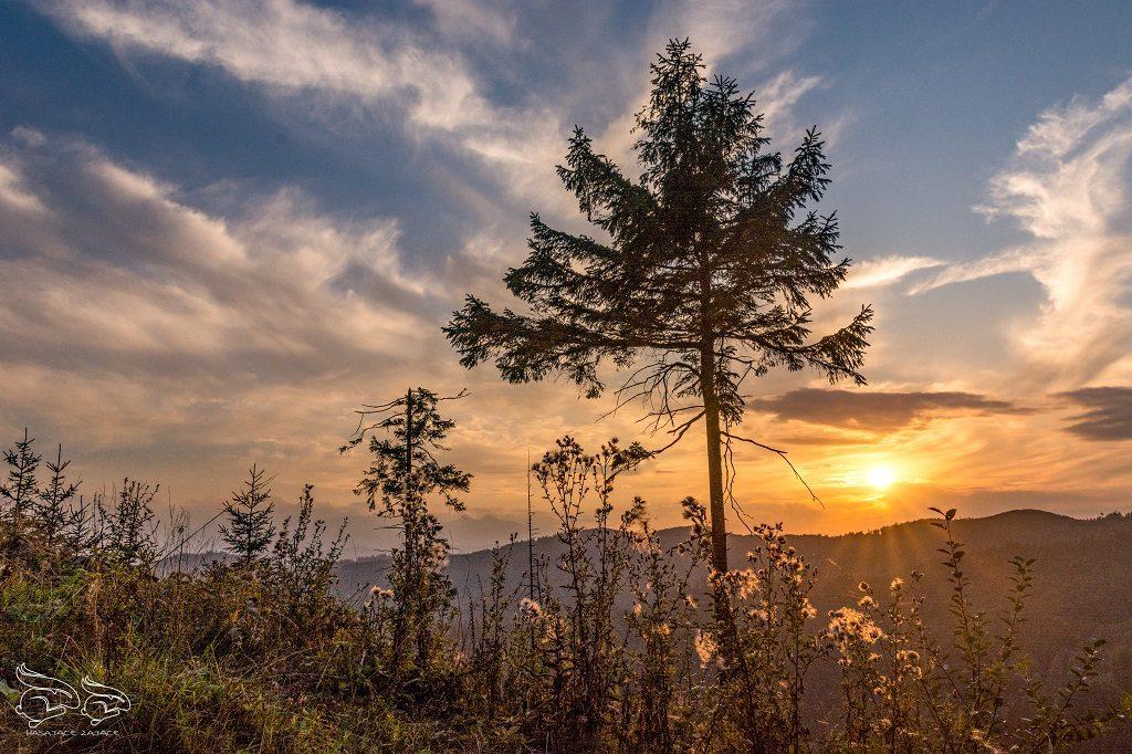 Wietrzny Wierch Góry na Słowacji