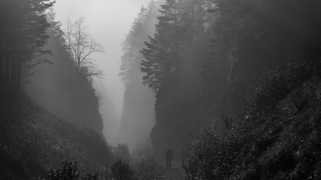 Wąwóz Szopczanski - szlak na Trzy Korony