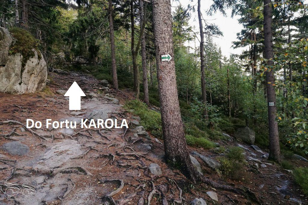 Fort Karola Góry Stołowe