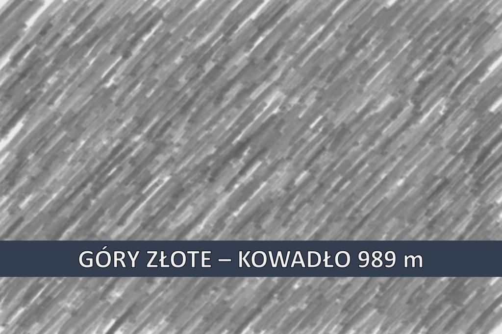 Szczyty KGP - Kowadło
