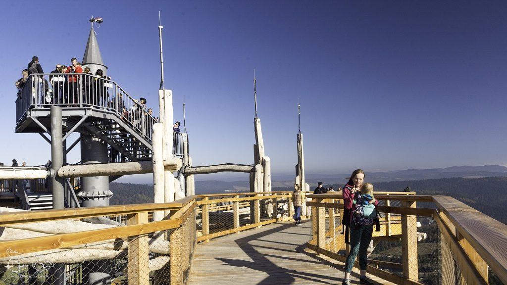 wieża widokowa w Krynicy
