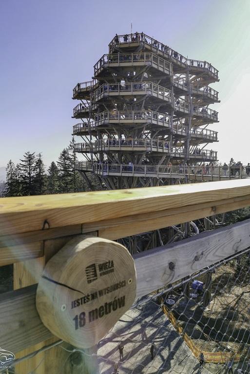 Wieża widokowa Krynica