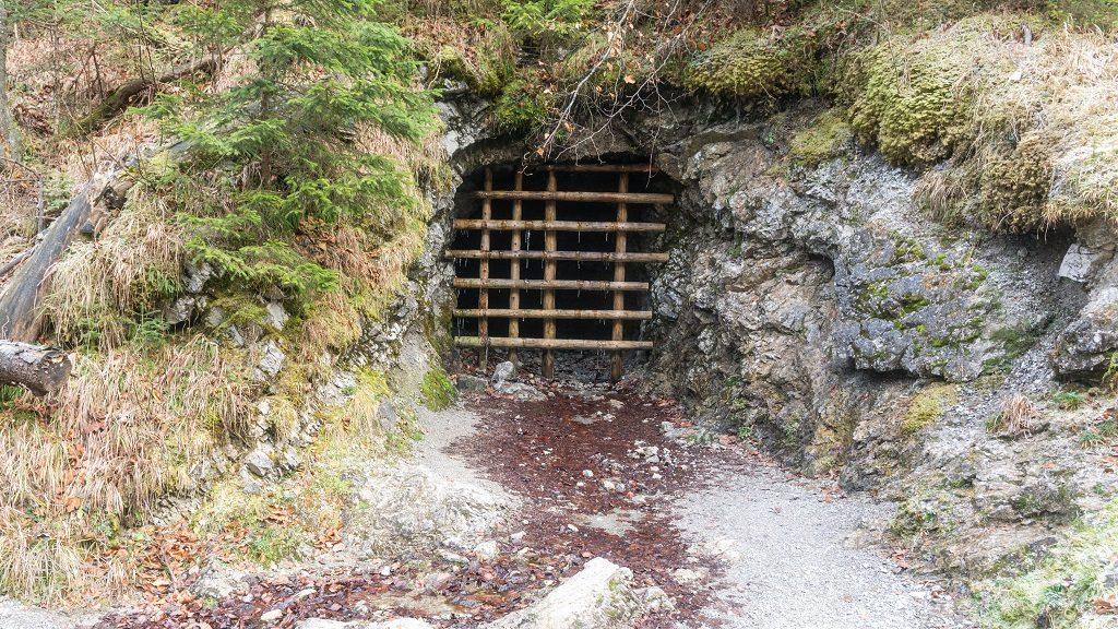Sztolnia w Dolinie Białego - trasa na Sarnią Skałę