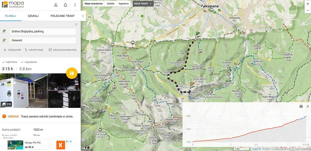 Darmowe Mapy Turystyczne Online Hasajace Zajace