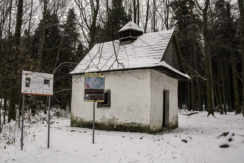 Kapliczka Żeromskiego Góry Świętokrzyskie