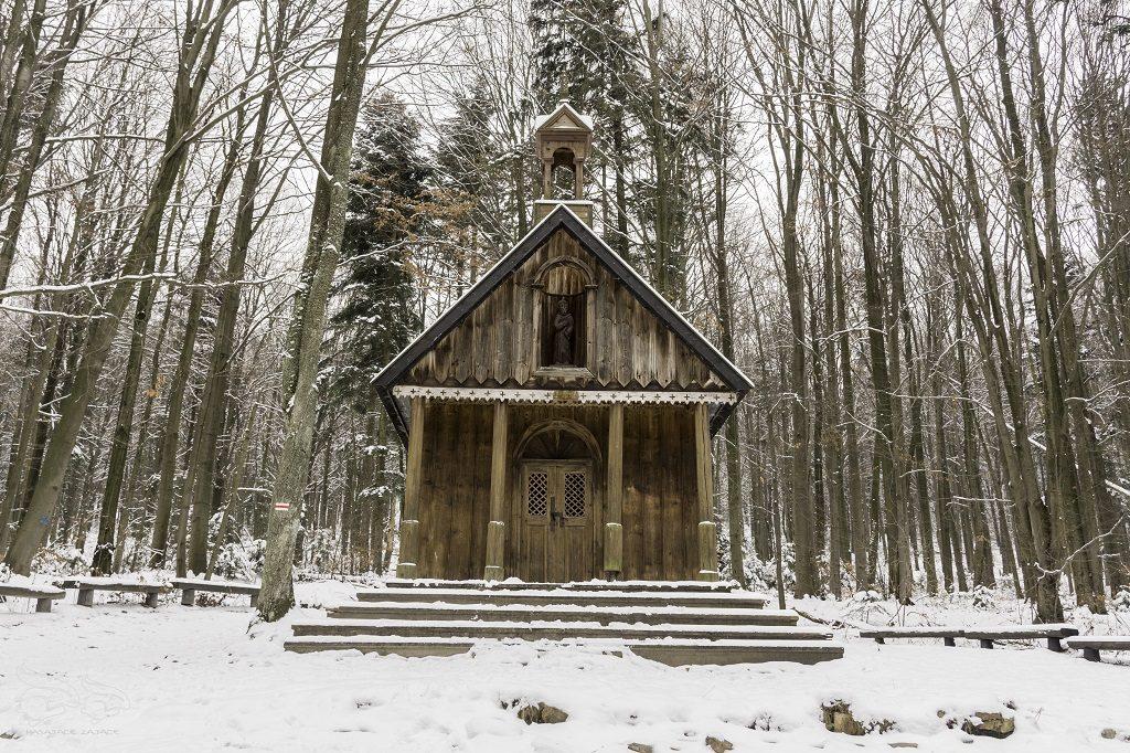 Łysica Kapliczka Świętego Franciszka