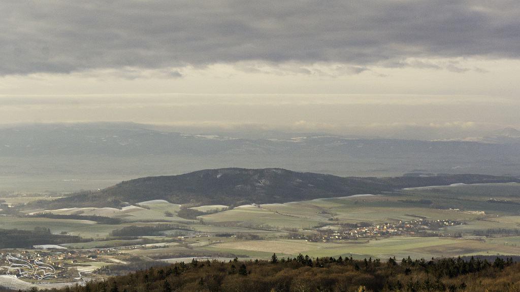 Góra Ślęża - panorama