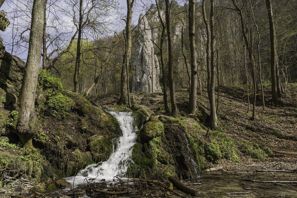 wodospad dolina Będkowska