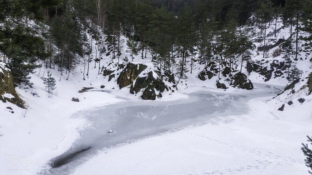 Kolorwe Jeziorka zimą