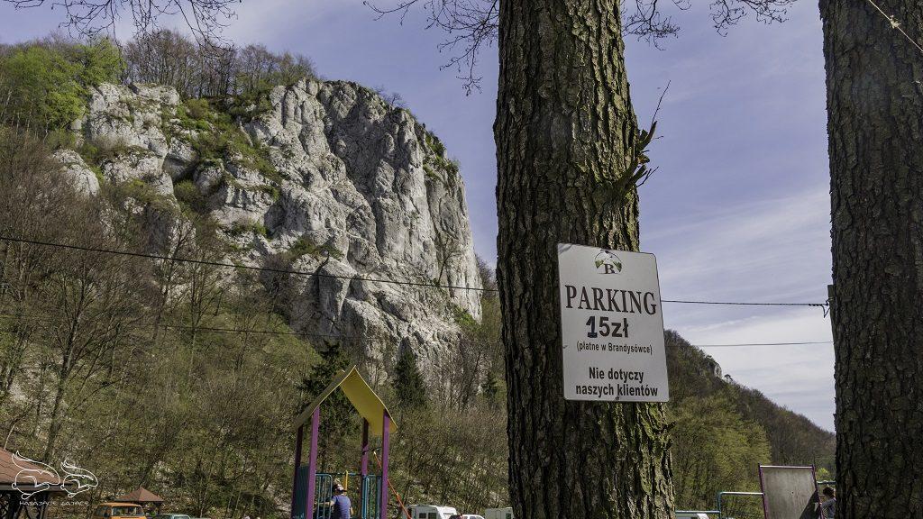 Dolina Będkowska parking