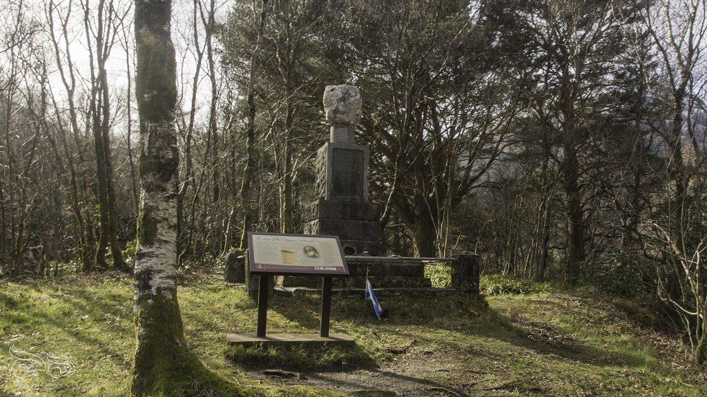 glencoe pomnik