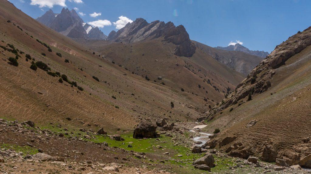 góry w Tadzykistanie
