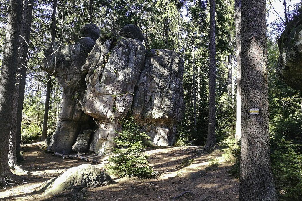 skalne grzyby góry stołowe