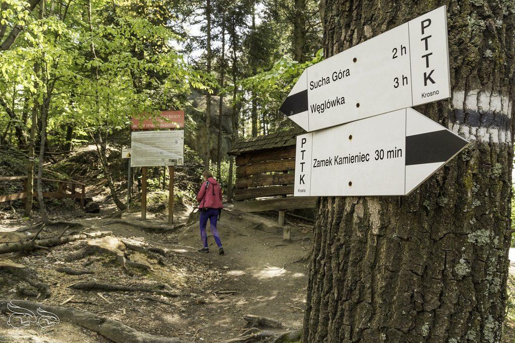 Rezerwat Prządki szlak