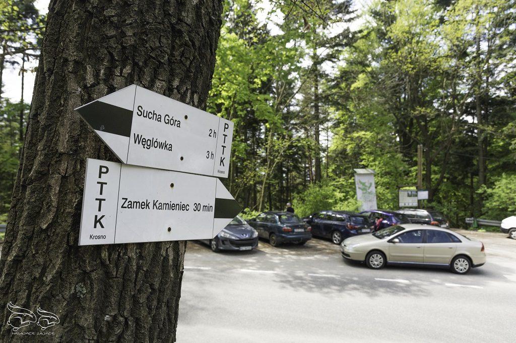 Rezerwat Przadki Parking