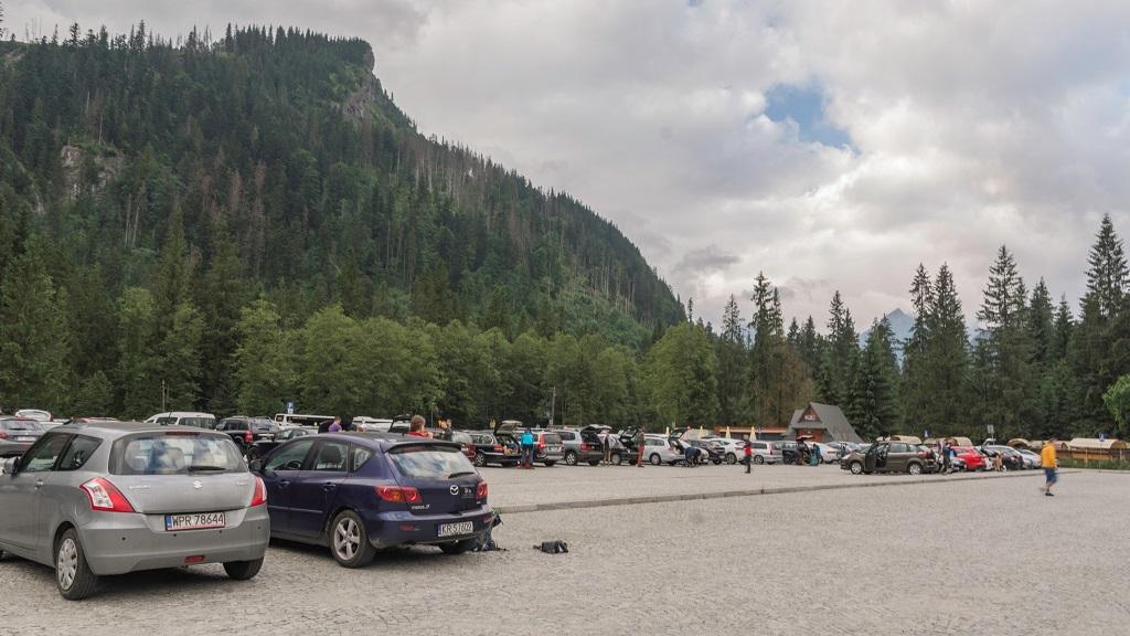 Morskie Oko Parking - dojazd pod Szpiglasowy Wierch