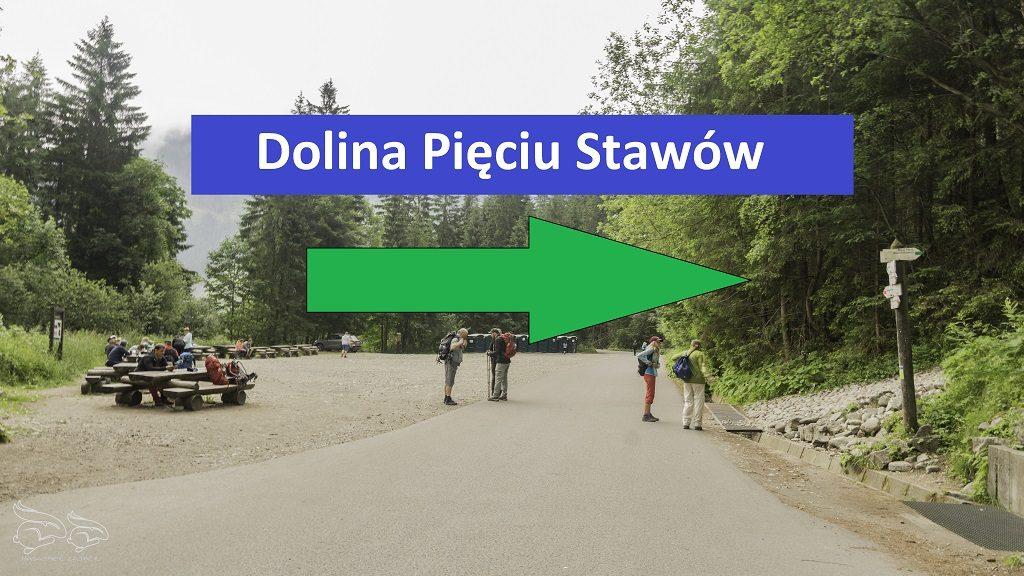 trasa do Doliny Pięciu Stawów i dalej na Szpiglasowy Wierch