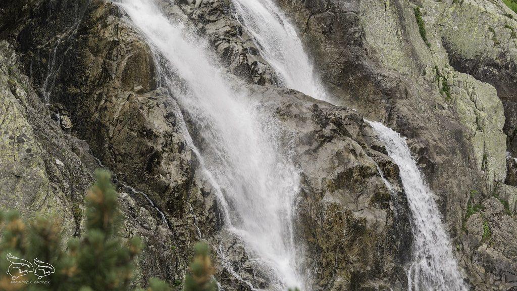 Siklawa - dolina pięciu stawów szlak