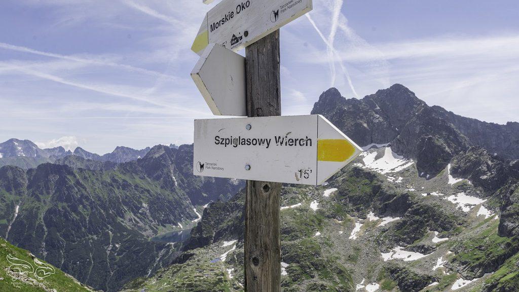 Szpiglasowy Wierch szlak ze Szpiglasowej Przełęczy