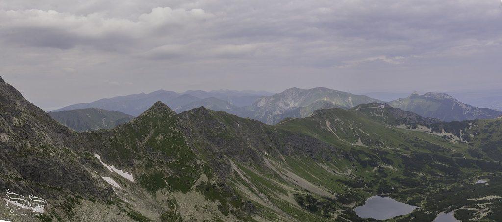 Kościelec panorama