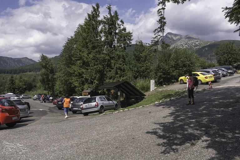 Krywań parking