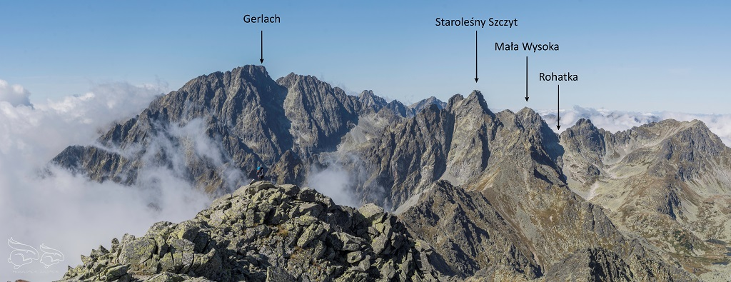 Sławkowski Szczyt panorama