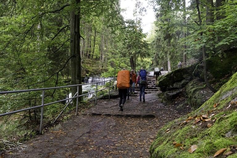 Wodospad Szklarki trasa