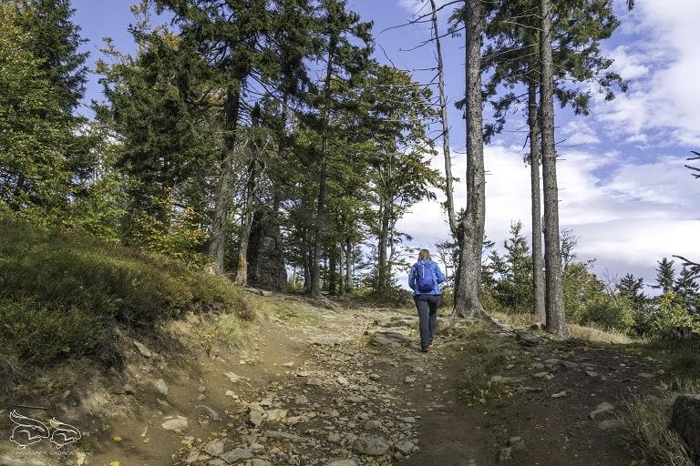 Kotlina Kłodzka góry - szlak na Wielką Sowę