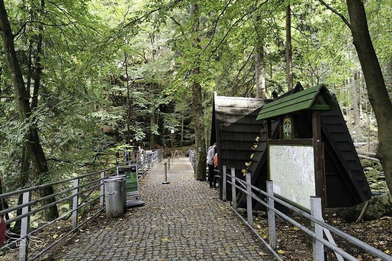 Wodospad Szklarki kasa