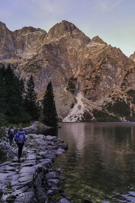 Mieguszowieckie Szczyty - szlak na Rysy