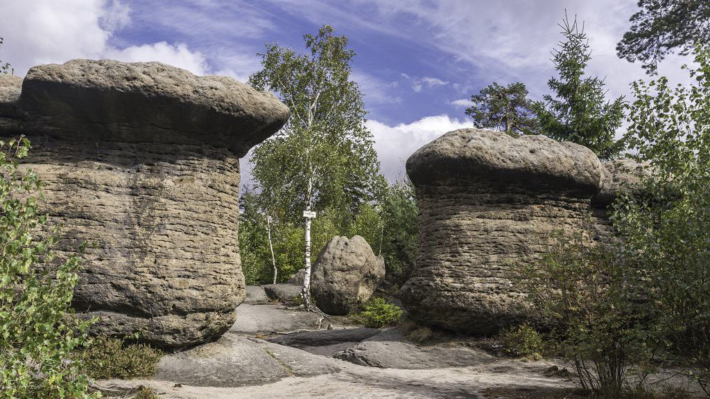skalne miasto czechy - broumovske steny